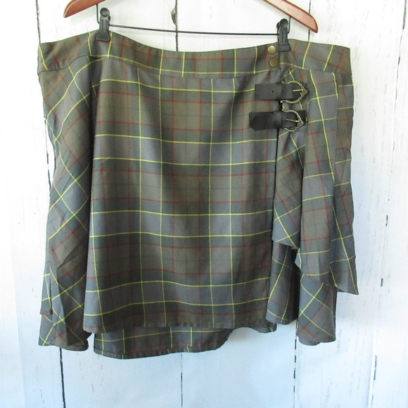 6a74dfe8a9 torrid Skirts | Outlander Tartan Plaid Kilt Skirt Fraser | Poshmark